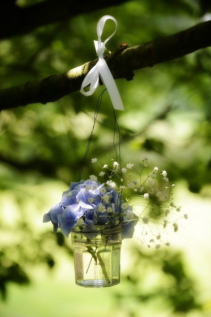 flowers, wedding, party